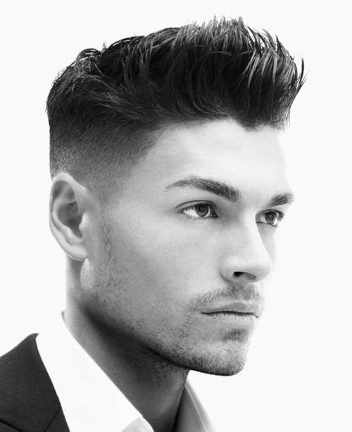 Belle coupe de cheveux homme facile a faire
